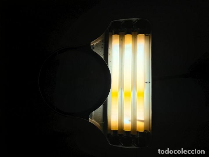 Vintage: LAMPARA INDUSTRIAL CON LUPA 3X, ARTICULADA, DAZOR MADE U.S.A. 1950 DIMENSIONES 76X25X16 cm. - Foto 14 - 226135265