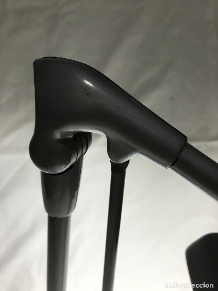 Vintage: LAMPARA INDUSTRIAL CON LUPA 3X, ARTICULADA, DAZOR MADE U.S.A. 1950 DIMENSIONES 76X25X16 cm. - Foto 15 - 226135265