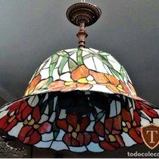 Vintage: LÁMPARA ESTILO TIFFANY. Lote 178107180