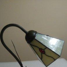 Vintage: LAMPARA SOBREMESA ESTILO TIFANNY ART DECO. Lote 178438491