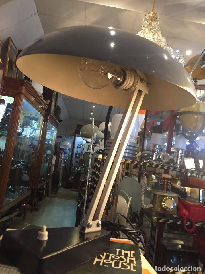 Vintage: LAMPARA DE MESA MARCA HALA ZEIST DISEÑO DE J.A BUSQUET DE LOS AÑOS 60 - Foto 3 - 178556683
