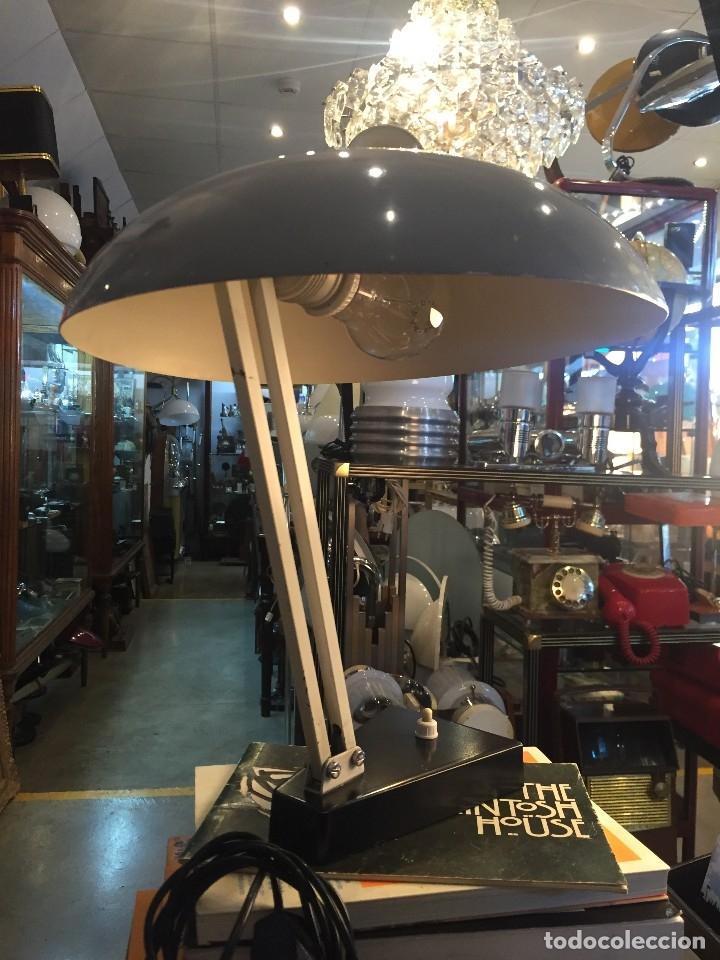 Vintage: LAMPARA DE MESA MARCA HALA ZEIST DISEÑO DE J.A BUSQUET DE LOS AÑOS 60 - Foto 4 - 178556683