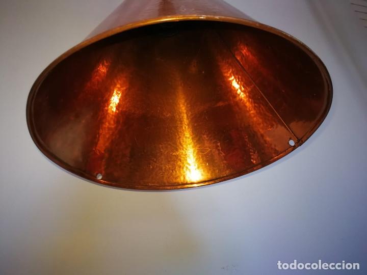 Vintage: Lampara Danesa de cono en cobre, 1970s - Foto 7 - 178965167