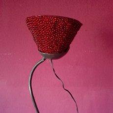 Vintage: LAMPARA DE HIERRO. Lote 179019113