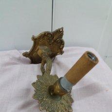 Vintage: APLIQUE LAMPARA DE PARED DE BRONCE.. Lote 179542196