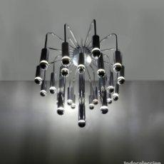 Vintage: ESPECTACULAR LAMPARA SPUTNIK POR GAETANO SCIOLARI, 1970S. Lote 180132660