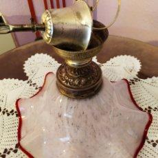 Vintage: SOPLADO, MURANO??LÁMPARA PURO VINTAGE, ÚNICA, VER. Lote 180904686