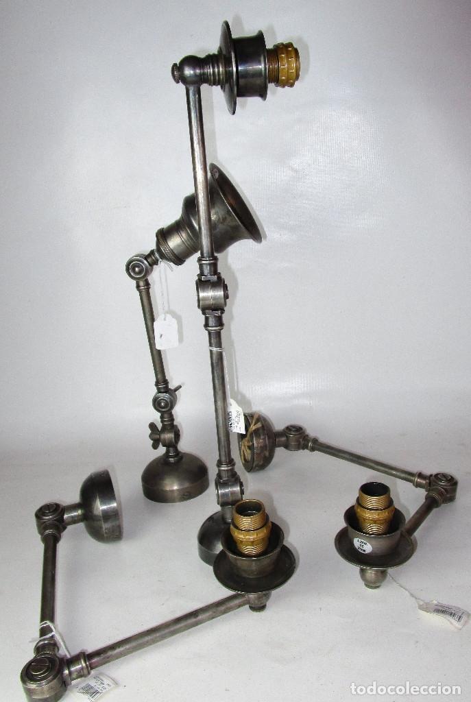 CHEHOMA BELGIUM VINTAGE INDSUTRIAL LAMP JIELDE STYLE (Vintage - Lámparas, Apliques, Candelabros y Faroles)