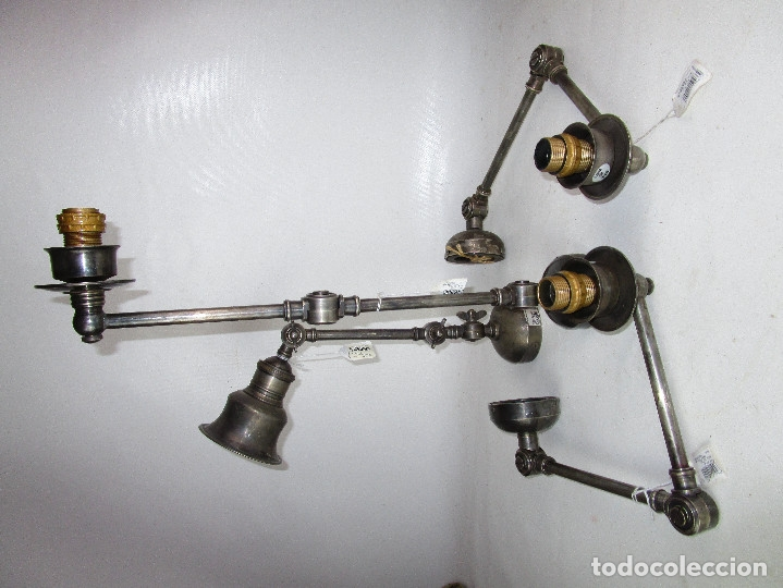 Vintage: CHEHOMA BELGIUM VINTAGE INDSUTRIAL LAMP JIELDE STYLE - Foto 3 - 181092430