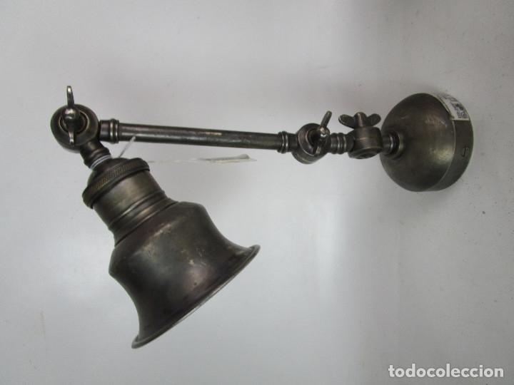 Vintage: CHEHOMA BELGIUM VINTAGE INDSUTRIAL LAMP JIELDE STYLE - Foto 9 - 181092430
