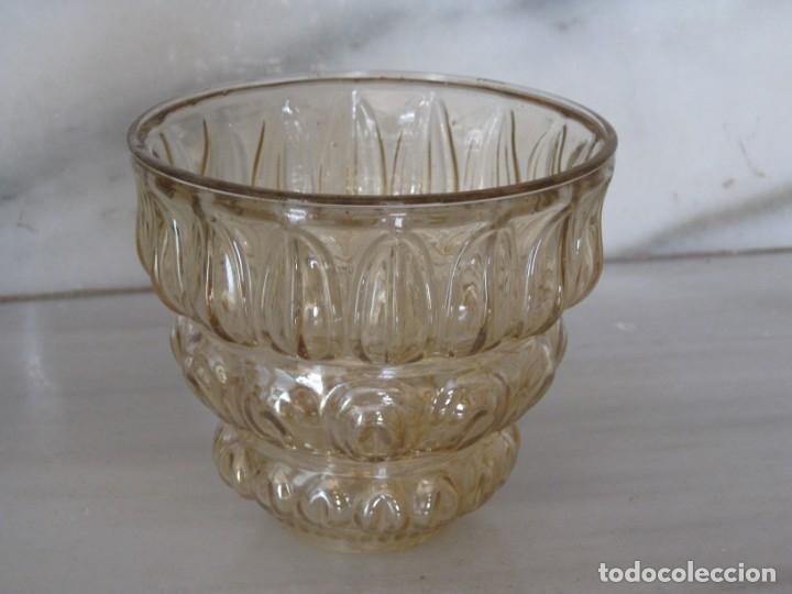 Vintage: Lote de 3 tulipas de cristal grueso. - Foto 3 - 181791001