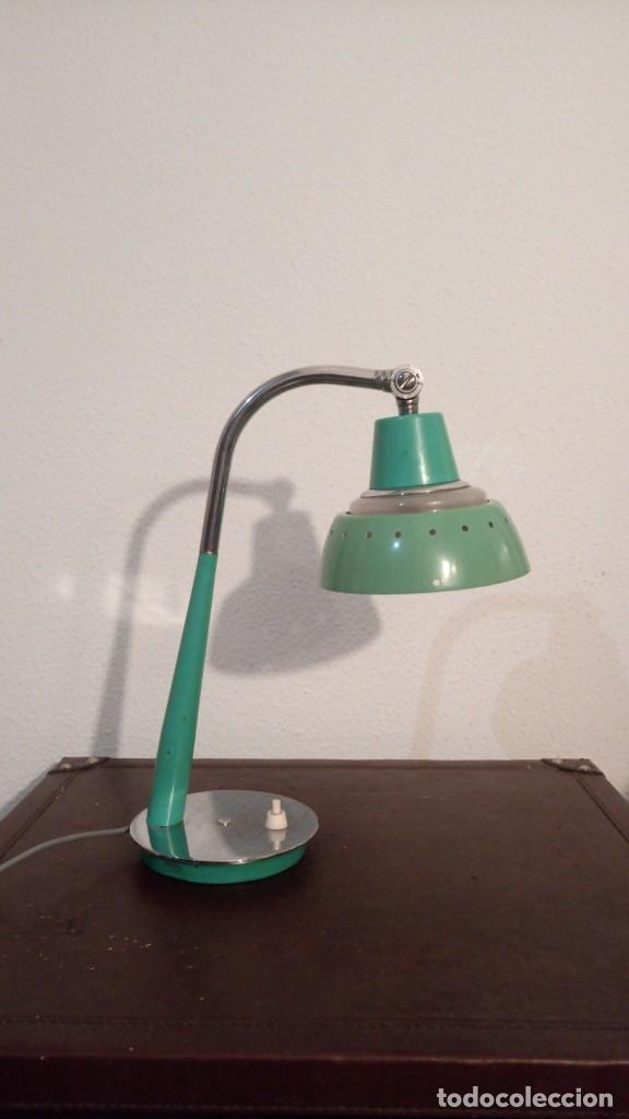 LAMPARA DE SOBREMESA AÑOS 50 (Vintage - Lámparas, Apliques, Candelabros y Faroles)