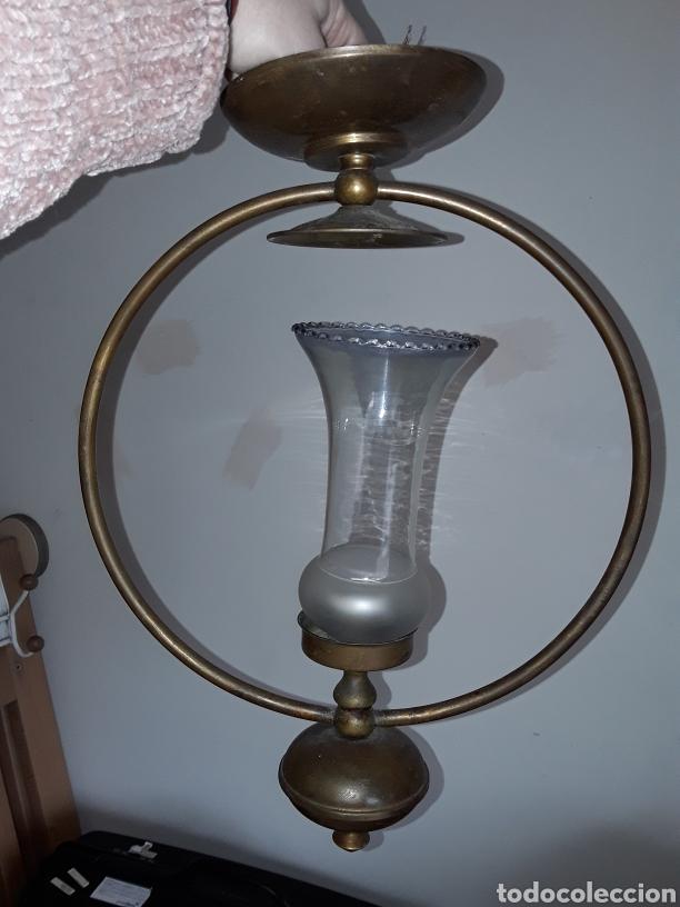 LAMPARA VINTAGE (Vintage - Lámparas, Apliques, Candelabros y Faroles)