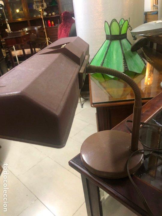 ANTIGUA LAMPARA FLEXO DE ESTUDIO (Vintage - Lámparas, Apliques, Candelabros y Faroles)