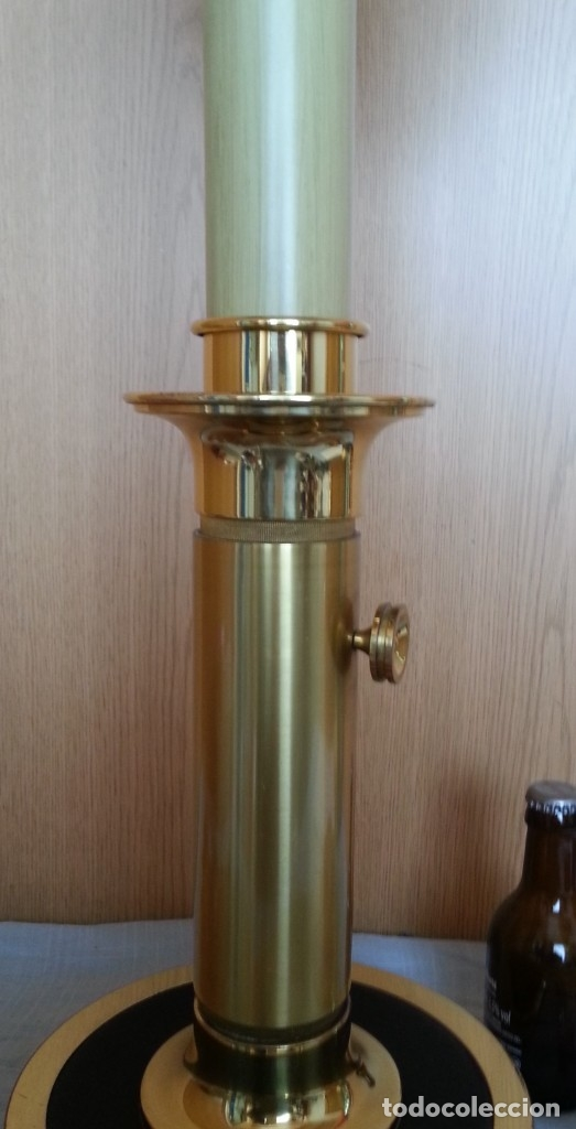 Vintage: Lámpara de mesa. Latón y metal. Funcionando. - Foto 4 - 183269750