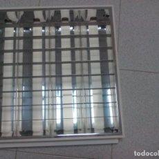 Vintage: LOTE 90 PANELES DE LUZ DE NEONES DE 60 X 60 CMS. PANEL COMPLETO YA MONTADO PANELES MÁS 370 TUBOS.. Lote 183456043