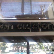 Vintage: GRAN CARTEL NEÓN DON ALGODON. Lote 183529788