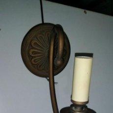 Vintage: APLIQUE DE PARED EN HIERRO PATINADO . Lote 183774155