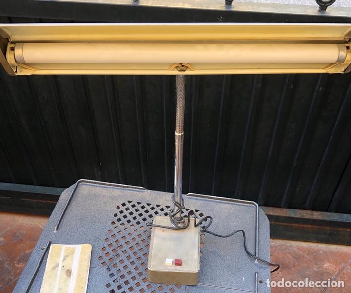 PRECIOSO FLEXO DE MESA, AÑOS 60-70, FUNCIONA (Vintage - Lámparas, Apliques, Candelabros y Faroles)