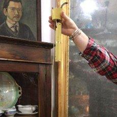 Vintage: LAMPARA VINTAGE TIPO OVNI METALICA AÑOS 70 - MEDIDA 34 X 94. Lote 184438435