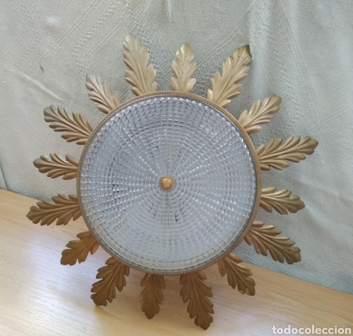 APLIQUE TECHO VINTAGE (Vintage - Lámparas, Apliques, Candelabros y Faroles)