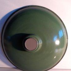 Vintage: 3 REFLECTORES ANTIGUOS.DE.CHAPA ESMALTADA. Lote 184865951