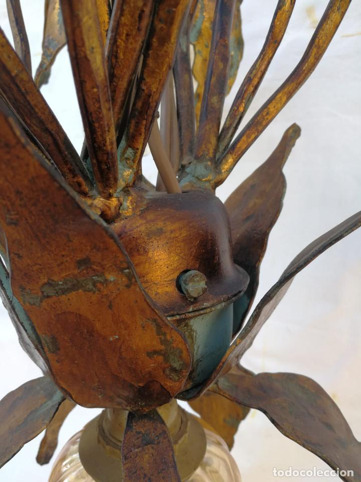 Vintage: Gran lámpara espectacular estilo Art nouveau brutalista - Foto 12 - 186096821
