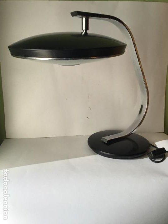 Vintage: MARAVILLOSA LAMPARA FASE , VINTAGE ORIGINAL , EN METAL CON DIFUSOR , ORIGINAL AÑOS 60 - Foto 4 - 186260043