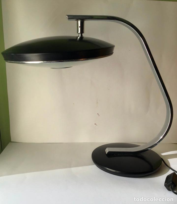 Vintage: MARAVILLOSA LAMPARA FASE , VINTAGE ORIGINAL , EN METAL CON DIFUSOR , ORIGINAL AÑOS 60 - Foto 10 - 186260043