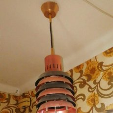 Vintage: LAMPARA DE TECHO ANTIGUA VINTAGE ORIGINAL AÑOS 50. Lote 186273258