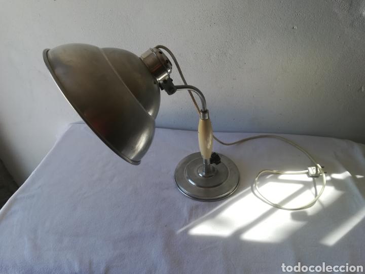 Vintage: Lampara años 50 industrial - Foto 2 - 186365971