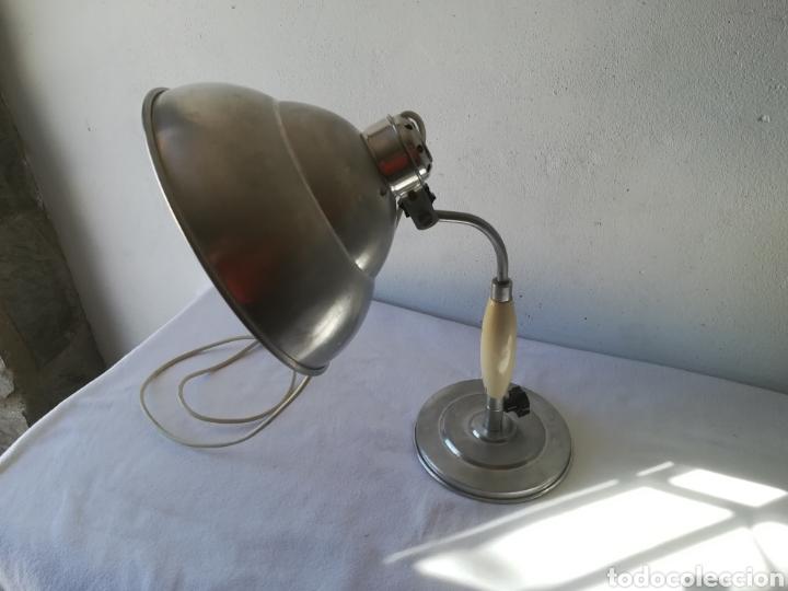 Vintage: Lampara años 50 industrial - Foto 4 - 186365971