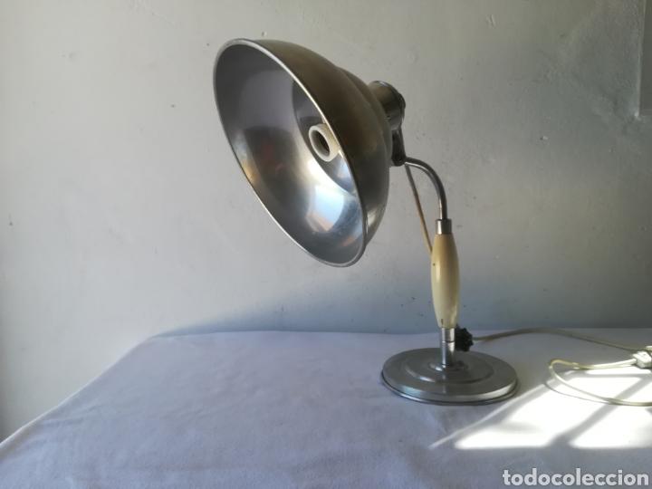 LAMPARA AÑOS 50 INDUSTRIAL (Vintage - Lámparas, Apliques, Candelabros y Faroles)