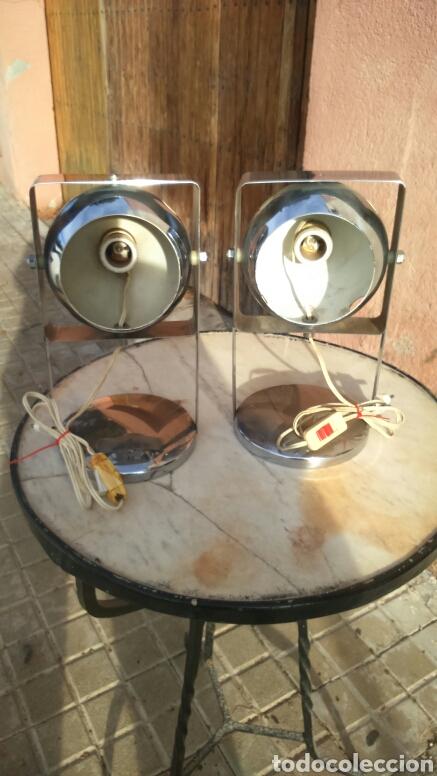 PAREJA DE LAMPARAS VINTAGE (Vintage - Lámparas, Apliques, Candelabros y Faroles)