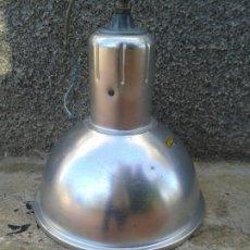Vintage: FOCO LAMPARA DE TECHO INDUSTRIAL ALUMINIO. Lote 187545358