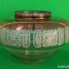Vintage: TULIPA CRISTAL TIPO MURANO MAZZEGA. Lote 189359188