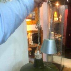Vintage: LAMPARA METALICA TIPO INDUSTRIAL - MEDIDA 36 CM DIAMETRO. Lote 189536640
