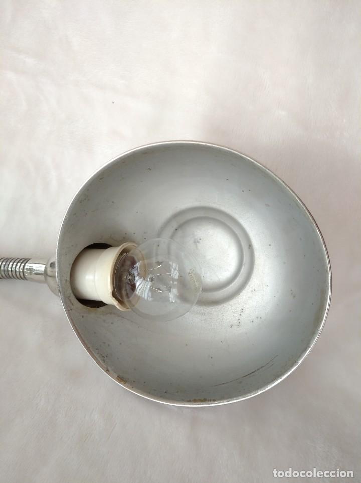 Vintage: Flexo de aluminio - Foto 5 - 189622277