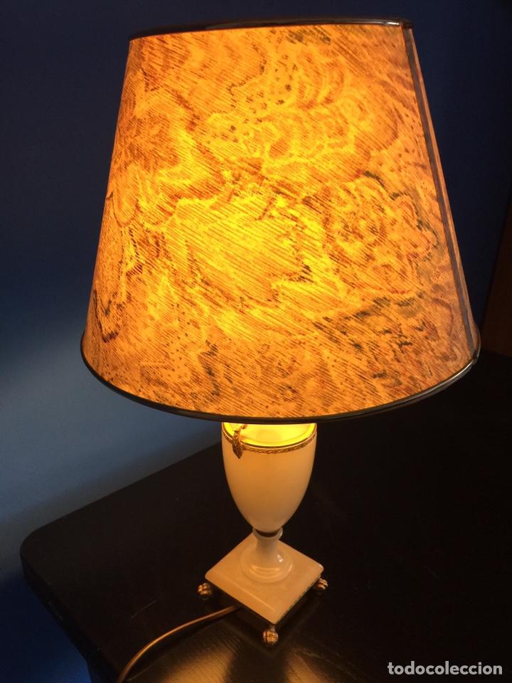 Vintage: Lampara de ónix - Foto 2 - 190875116