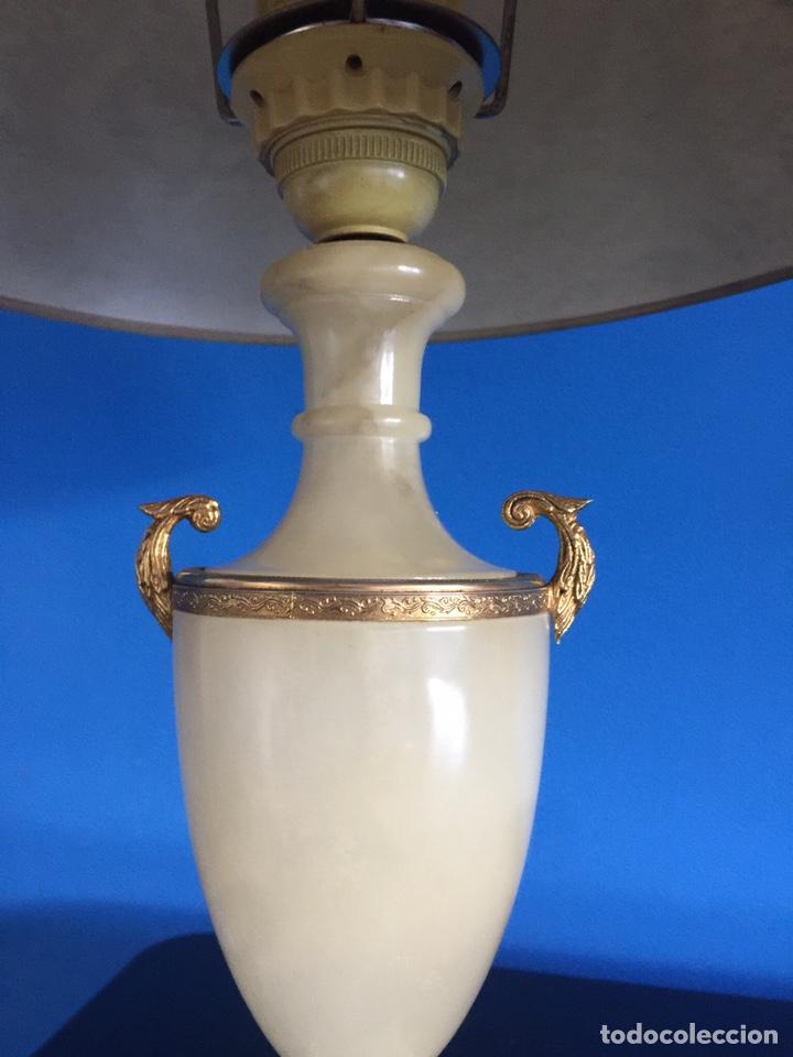 Vintage: Lampara de ónix - Foto 4 - 190875116