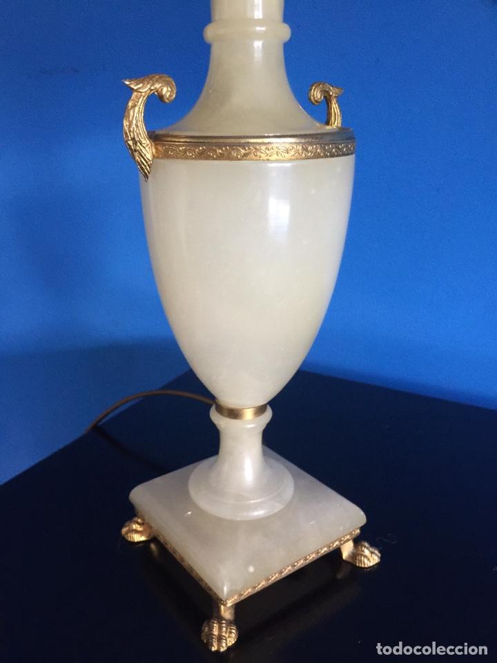 Vintage: Lampara de ónix - Foto 5 - 190875116