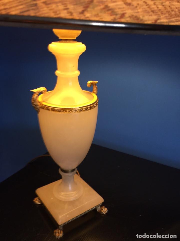 Vintage: Lampara de ónix - Foto 8 - 190875116