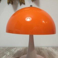 Vintage: LAMPARA VINTAGE SETA TRAMO SOBREMESA SPACE AGED POP. Lote 191485070