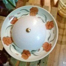 Vintage: PLAFON TECHO CERAMICA. Lote 191654056