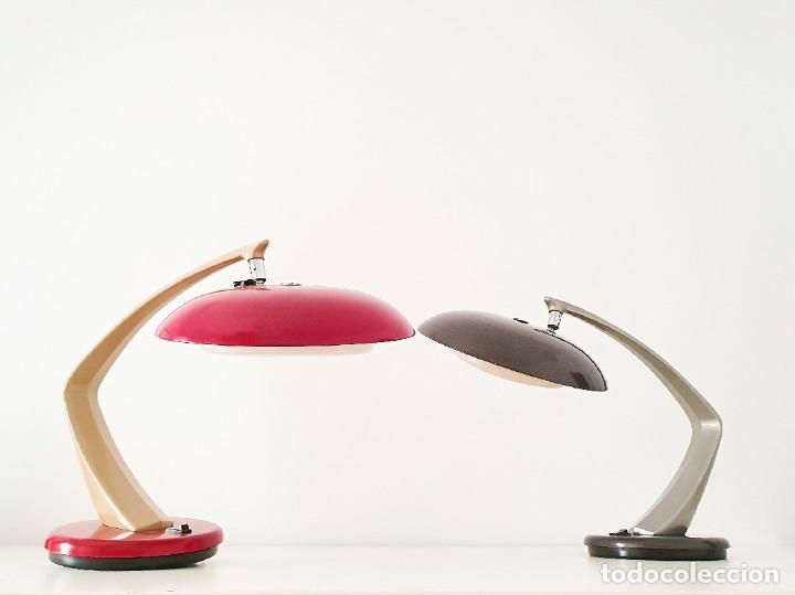 Vintage: Lámpara Fase modelo Boomerang 64 color gris plateado - Foto 7 - 191665913