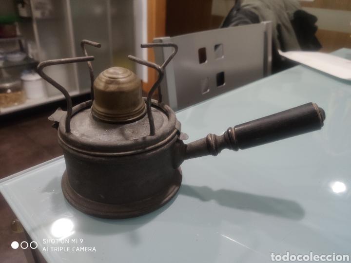 HORNILLO QUEMADOR PETRÓLEO (Vintage - Lámparas, Apliques, Candelabros y Faroles)