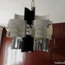 Vintage: LAMPARA GRAN DISEÑO SPACE AGE POP - AÑOS 70. Lote 193356486