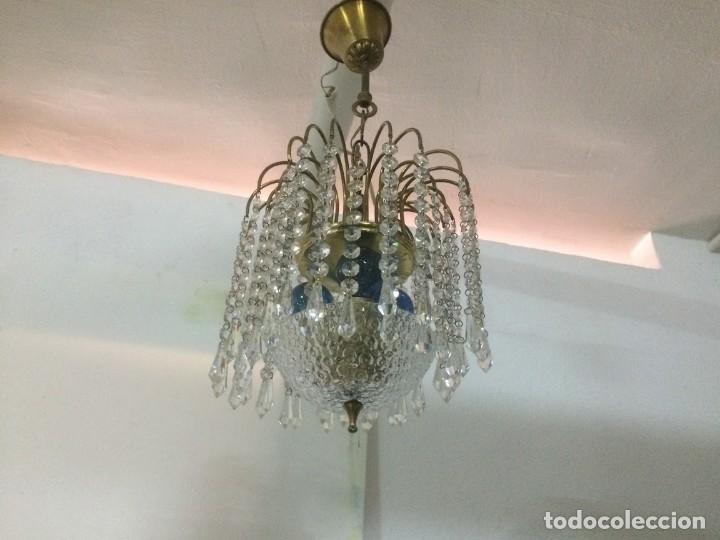 Vintage: Lampara colgante para techo - Foto 2 - 194222543