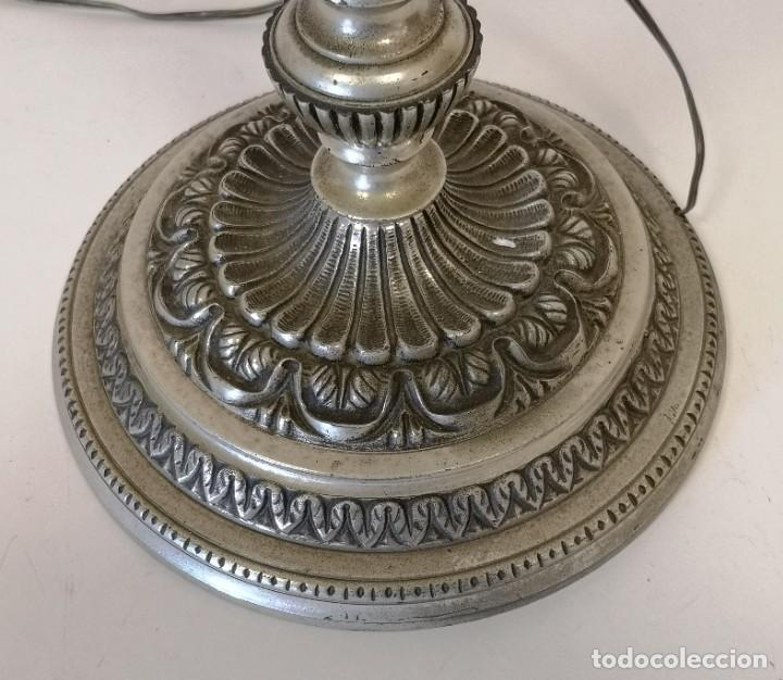 Vintage: Gran lámpara de sobremesa de 5 brazos y 80 cm - Foto 6 - 194225053