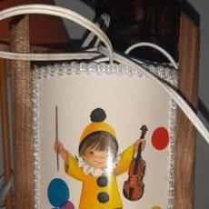 Vintage: LAMPARA INFANTIL AÑOS 60 CONSTANZA. Lote 194250906
